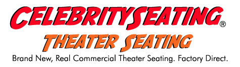 Celebrity Seating - Theater Seating Logo