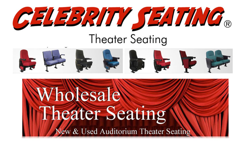 Celebrity Seating new theater seating