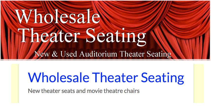 Wholesale theater seating new theater seating